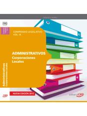 Compendio Legislativo de Administrativo de Corporaciones Locales. EDITORIAL CEP, S.L.