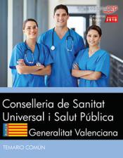 Conselleria de Sanitat Universal i Salut Pública. Generalitat Valenciana. Temario Común de EDITORIAL CEP