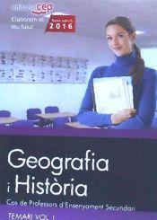 Cos de Professors D Ensenyiament  Secundari. Geografia I Història - EDITORIAL CEP