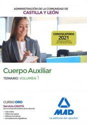 Cuerpo Auxiliar de la Administración de la Comunidad Autónoma de Castilla y León - Ed. MAD