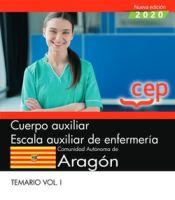 Auxiliar de enfermería de la Comunidad Autónoma de Aragón (DGA) - EDITORIAL CEP