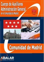 Cuerpo de Auxiliares Administración General de la Comunidad de Madrid de Abalar Academia de Seguridad