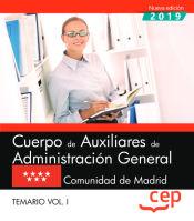 Auxiliar Administrativo. Comunidad de Madrid - EDITORIAL CEP