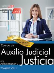Cuerpo de Auxilio Judicial de la Administración de Justicia. Turno libre - EDITORIAL CEP