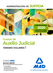 Cuerpo de Auxilio Judicial de la Administración de Justicia - Ed. MAD