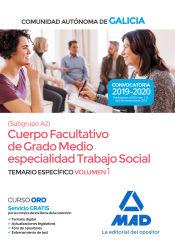 Trabajador Social de la Comunidad Autónoma de Galicia - Ed. MAD
