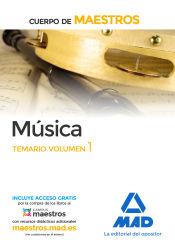 Cuerpo de Maestros. Educación Musical - Ed. MAD
