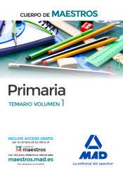 Cuerpo de Maestros. Educación Primaria - Ed. MAD
