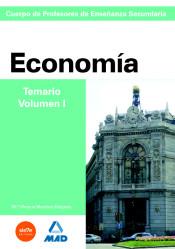 Cuerpo de Profesores de Enseñanza Secundaria. Economía - Editorial MAD
