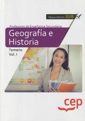 Cuerpo de Profesores de Enseñanza Secundaria. Geografía e Historia - EDITORIAL CEP