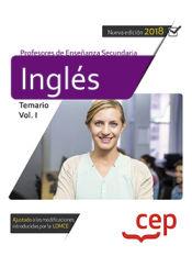 Cuerpo de Profesores de Enseñanza de Secundaria. Inglés - EDITORIAL CEP