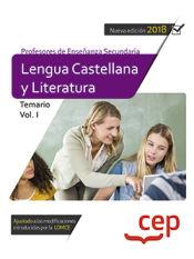 Cuerpo de Profesores de Secundaria. Lengua Castellana y Literatura - EDITORIAL CEP
