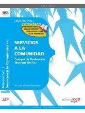 Cuerpo de Profesores Técnicos de F.P. Servicios a la Comunidad - EDITORIAL CEP