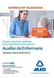 Auxiliar de Enfermería de la Administración de la Generalitat Valenciana - Ed. MAD