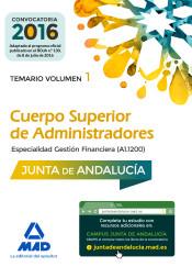 Cuerpo Superior de Administradores [Especialidad Gestión Financiera (A1 1200)] de la Junta de Andalucía - Ed. MAD