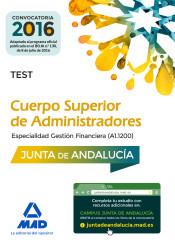 Cuerpo Superior de Administradores [especialidad Gestión Financiera (A1 1200)] de la Junta de Andalucía. Test