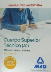Cuerpo Superior Técnico de la Generalitat Valenciana (A1) - Ed. MAD