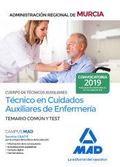 Auxiliar de Enfermería de la Administración Pública Regional de Murcia - Ed. MAD