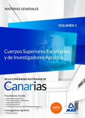 Cuerpo Superior Facultativo y de investigadores agrarios de la Comunidad Autónoma de Canarias - Ed. MAD