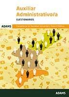 Cuestionario Auxiliar Administrativo-a de la Conselleria de Sanidad Universal y Salud Pública de Ed. Adams