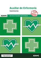 Cuestionarios Auxiliar de Enfermería del Servicio Canario de la Salud de Ed. Adams