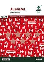 Cuestionarios Auxiliares Administrativos de la Comunidad de Madrid de Ed. Adams