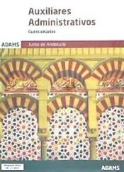 Cuestionarios Auxiliares Administrativos de la Junta de Andalucía