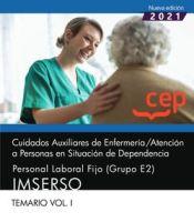 Auxiliar de Enfermería Grupo E2 IMSERSO - EDITORIAL CEP