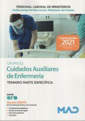 Auxiliar de Enfermería (Grupo E2) Instituciones Penitenciarias ( Ministerio del Interior) - Ed. MAD