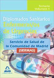 Diplomado Sanitario. Enfemera/o de Urgencias del  Servicio de Salud de la Comunidad de Madrid (SERMAS) - Ed. MAD