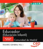 Educador (Educación Infantil). Comunidad de Madrid - EDITORIAL CEP
