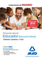 Educador (Educación Infantil). Personal Laboral de la Comunidad de Madrid - Ed. MAD