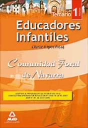Educador Infantil de la Comunidad Foral de Navarra (Parte Específica) - Ed. MAD