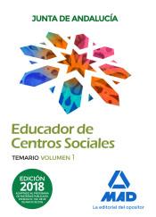Educador de Centros Sociales de la Junta de Andalucía. Personal Laboral, Grupo II - Ed. MAD