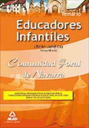 Educador Infantil de la Comunidad Foral de Navarra (Parte Jurídica) - Ed. MAD