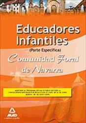 Educadores Infantiles de la Comunidad Foral de Navarra. Test parte Específica