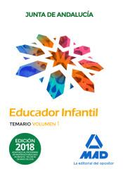 Educadores infantiles. Personal laboral de la Junta de Andalucía - Ed. MAD