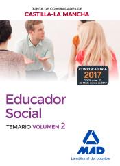 Educadores Sociales de la Junta de Comunidades de Castilla-La Mancha. Temario Específico Volumen 2 de Ed. MAD