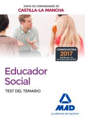 Educadores Sociales de la Junta de Comunidades de Castilla-La Mancha. Temario EspecíficoTest de Ed. MAD