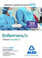 Enfermera/o del Servicio Canario de Salud. Temario volumen 3 de Ed. MAD