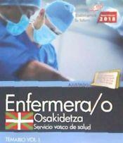 Enfermera/o. Servicio vasco de salud-Osakidetza. Temario. Vol. I de EDITORIAL CEP