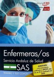 Enfermeras/os. Servicio Andaluz de Salud (SAS). Temario y test común de EDITORIAL CEP
