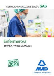 Enfermero/a del Servicio Andaluz de Salud (SAS). Test del Temario Común. de Ed. MAD
