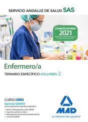 Enfermero/a del Servicio Andaluz de Salud. Temario específica volumen 2 de Ed. MAD
