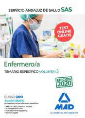Enfermero/a del Servicio Andaluz de Salud. Temario específica volumen 3 de Ed. MAD
