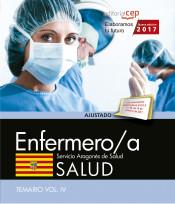 Enfermero/a del Servicio Aragonés de Salud. SALUD. Temario. Vol. IV de Ed. CEP