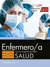Enfermero/a del Servicio Aragonés de Salud. SALUD. Temario. Vol.V de Ed. CEP