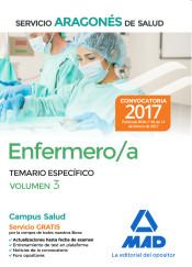 Enfermero/a del Servicio Aragonés de Salud. Vol. 3, Temario específico de Ed. MAD