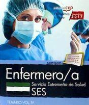 Enfermero/a. Servicio Extremeño de Salud. Temario Vol. IV de EDITORIAL CEP