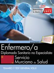 Enfermero/a. Servicio Murciano de Salud. Diplomado Sanitario no Especialista. Temario y Test General Vol.II de EDITORIAL CEP